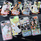 Bing Liquid Sparkle Glitter Disney Hard Clear Case Cover for iPhone 6/6S/6S Plus