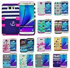 For Samsung Galaxy S6/S6 Edge/Note 3/4/S7/S7 Edge Shockproof Rugged Hybrid Case