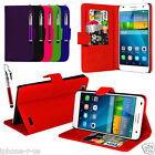 6 Colour Leather Stand Wallet Flip Phone Case Cover For Huawei Ascend G7