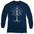 Tree of Gondor Lord of the Rings Licensed Long Sleeve Shirt Adult Sizes S-3XL