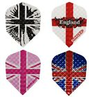 Harrows Dimplex Union Jack / England Standard Shape Dart Flights