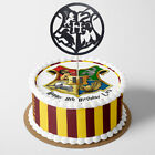Harry Potter PERSONALISED EDIBLE KIDS Icing Cake Wrapper Toppers Round Square