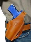 New Barsony Tan Leather Pancake Gun Holster for Sig-Sauer Full Size 9mm 40 45