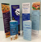 TABLE TALKER A3 Table Menu  Laminated, ( Stand up table menu)  ANY DESIGN
