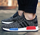 FASHION MENS BOOST TRAINERS KNIT SPORTS RUNNING SHOCK SPORTS ATHLETIC SHOES