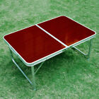 Folding table camping table suitcase table garden table 3 color 3 size and stool
