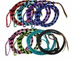Showman ® 4.5 ft Braided nylon Over & Under whip