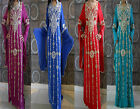 NEW DUBAI ABAYA KHALEEJI 2 LAYER MAXI DRESSGALABEYACOSTUMETHOBGOWN