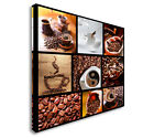 Collection Of Images With Coffee. Canvas Wall Art prints high quality