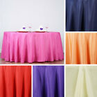 """20 pcs Wholesale Lot 132"""" ROUND POLYESTER TABLECLOTHS Wedding Catering Supplies"""