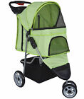 VIVO 3 Three Wheel Pet Stroller  / Cat & Dog Foldable Carrier Strolling Cart