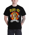 Blink 182 T Shirt band logo Fists Of Fury new Official Mens Black