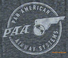 Pan Am t-shirt PAA Pan American Airway Tri-Blend Soft Special Fabric for Men NEW