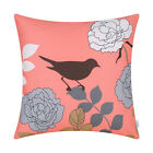 45 X 45cm Cushion Covers Pillows Shell Various Floral Shadow Birds Home Sofa Car