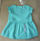 New BabyGap $35 Infant Girl Aqua Blue Dress (Size 2, 3 or 4)