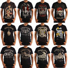 AU Men's T-shirt Addiction Brand Classic Big Motorcycle Sexy Devil Hot Size XXL