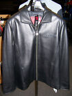 Corvette Womens, Ladies, Black Leather Jacket, Large