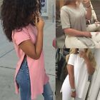 Fashion Women Summer Loose Top Short Sleeve Blouse Ladies Casual Tops GT56