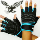 Weight Lifting Gym Gloves Workout Wrist Wrap Sport Exercise Training Fitness Men