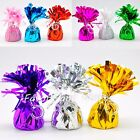 12 Balloon Weights Foil Baby Shower Gold Black Metallic Lot Arch - CHOOSE COLOR