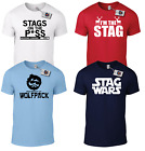 PERSONALISED STAG DO T-SHIRT - Stag Nights Stag Weekends Custom Printed T-Shirts