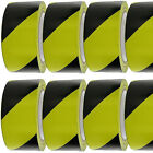 50mm 33m Black and Yellow Self Adhesive Hazard Warning Safety Tape Roll P219 NEW