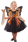 Butterfly Monarch Princess Toddler Costume