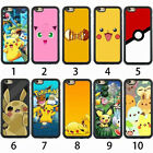 Hot Pikachu Pokemon Go Hybrid Bumper Metallic Shell Case Cover For iPhone Series