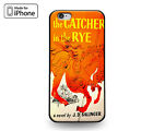Book Cover Catcher in the Rye Rubber Case for iPhone 7 6s 6 Plus 5s 5 5c SE