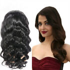 "New Fashion Wave 100% Real Human Hair Full/Front Lace Wigs 12""-22"""