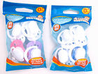 Griptight - 4 Soother Dummys Safety Cherry Soothers (Silicone) 0 Months +