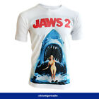 Men's Jaws 2 Movie Inspired Poster Fitted or Classic T-shirt
