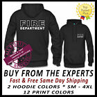 FIRE DEPARTMENT HOODIE TOP QUALITY SHIRTS & PRINT