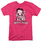 Betty Boop Born Wild Biker Babe on Motorcycle Eat My Dust Tee Shirt S-3XL $21.89 USD