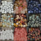 4mm 6mm 8mm 10mm Natural Frosted Matte Gemstones Round Loose Beads Jewelry