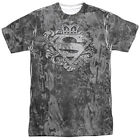 the superman logo - Superman Unchain the King Crown Logo Big Sublimation Print Poly Shirt S-3XL