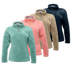 Regatta Oceanwave Womens Fluffy Cosy Hi-Pile Mid Layer Fleece Jacket