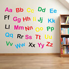 Nursery Alphabet Letters Lower & Upper Case Writing Wall Stickers Decal Kid A210