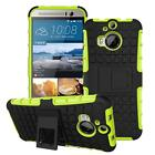 Heavy Duty Shock Proof Hybrid Impact Rugged Stand Case Cover For HTC Phones