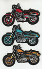 V TWIN MOTORCYCLE EMBROIDERED PATCH