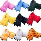 Adult Men & Women Animal Onesie Cartoon Cosplay Pajamas Slippers Paw Claw Shoes