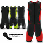 Mens Triathlon Suit Compression Base Layer Running Cycling Swimming Jogging Suit