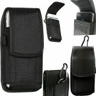 Universal Nylon Belt Hook Pouch Case Cover Holster Fasten Bag for Mobile Phones