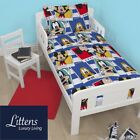 Junior Toddler Cot bed Cotbed Bedding Bundle, Duvet Quilt, Pillow 4 in 1 Set