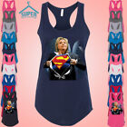 Super Hillary Clinton TANK Top LADY Tank Top Presidential Election Democrat Tee