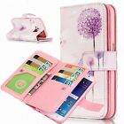Luxury Magnetic 9 Card Slots Leather Wallet Case Cover For Samsung Galaxy Phone