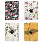 360 Degree Rotating Protective Stand Leather Smart Cover Case For Apple Pro 12.9