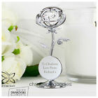 PERSONALISED ROSE Novelty Ornament Gift for Her Women my Wife Girlfriend Mum Nan