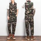 Camo Fashion Men's One Piece Overalls Jumpsuits Pants Casual Suspender Trousers
