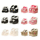 Fuzzy Boots Indoor Plush Animals Booties Slippers Shoes ADULT MEN WOMEN ONE SIZE